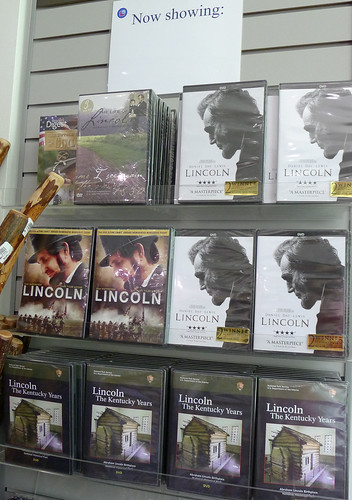 Movies for Sale at the Lincoln Birthplace