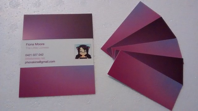 Mini Moo Cards!