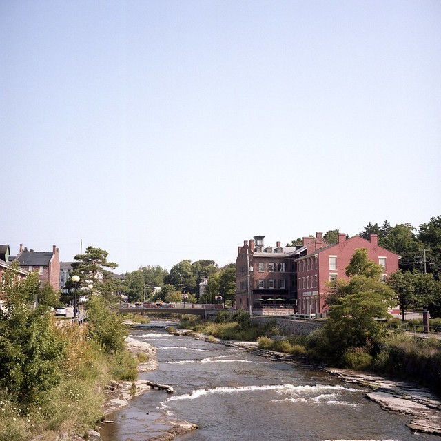 Garanaska River Through Port Hope