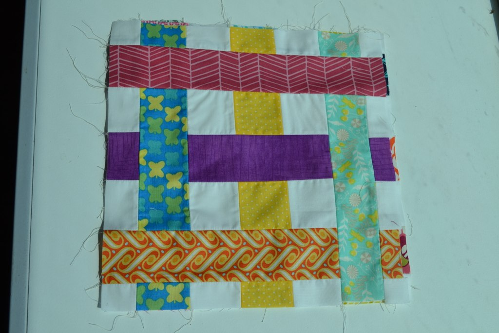 July Bee Block