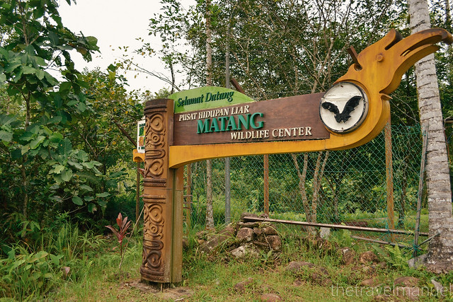 Matang Wildlife Centre Entrance