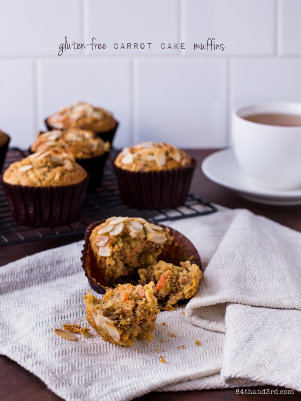 Gluten-Free Carrot Cake Muffins & a 'My Darling Lemon Thyme' Cookbook Giveaway!