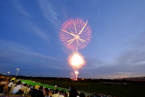 Toride Tone-River Fireworks Festival 05