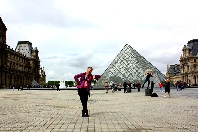 Píramídinn við Louvre
