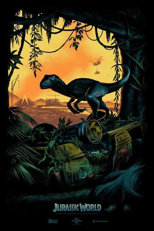 plakat jurassic world