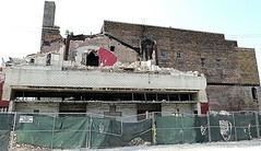All that remains of the old Lawndale Theater