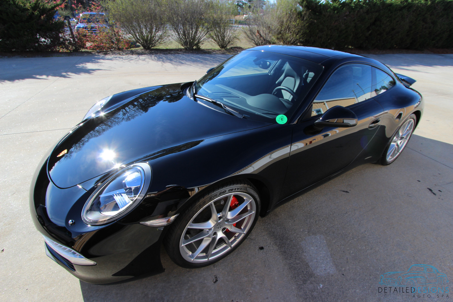Porsche paint correction clear bra cquartz finest atlanta for Car painting atlanta
