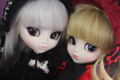 Suigintou & Shinku