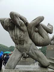 Oslo Vigeland Park sculptures.