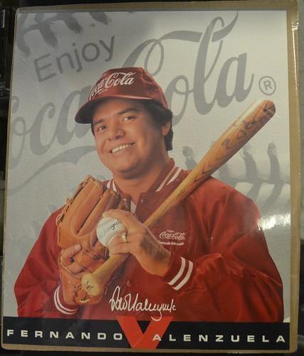 Fernando Valenzuela Poster - Coca Cola