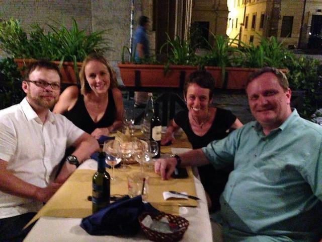 Auburn Reunion in Rome!