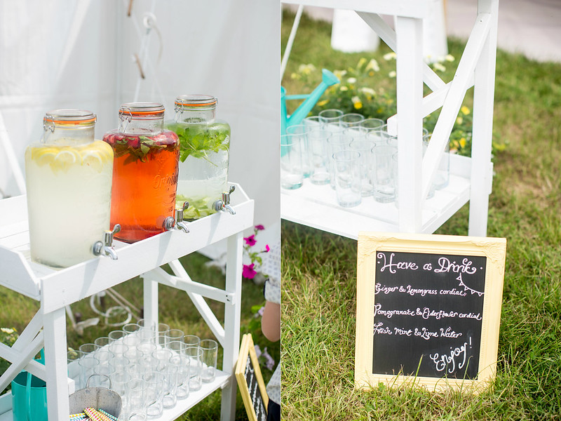 wedding cordial kilner jars
