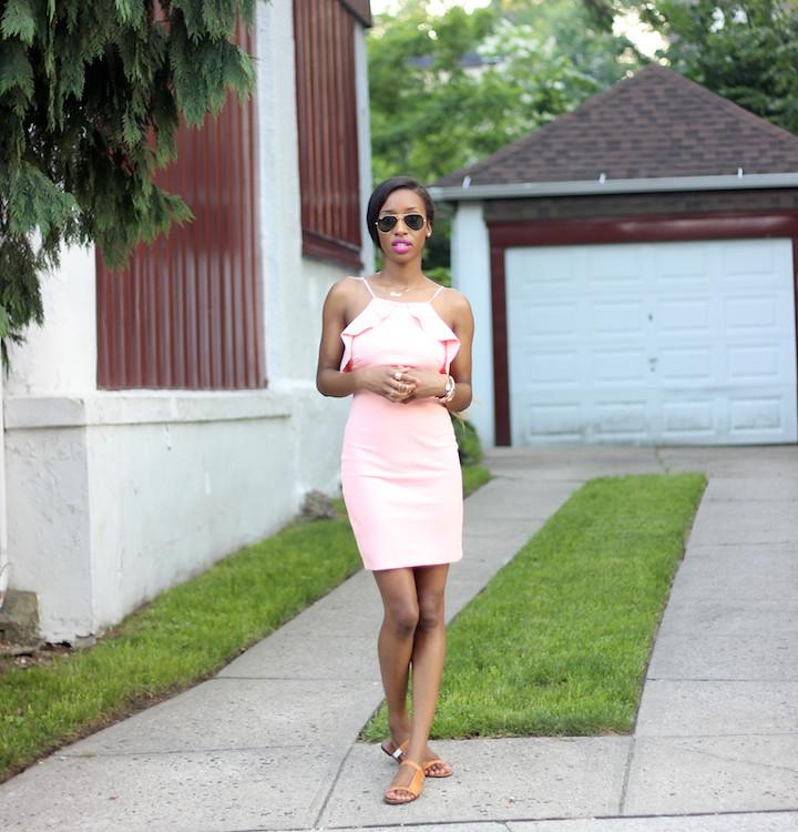 Coral Dress 8