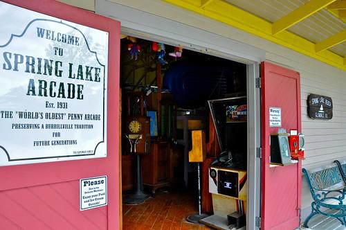 Spring Lake Penny Arcade - Burrillville RI - Entrance