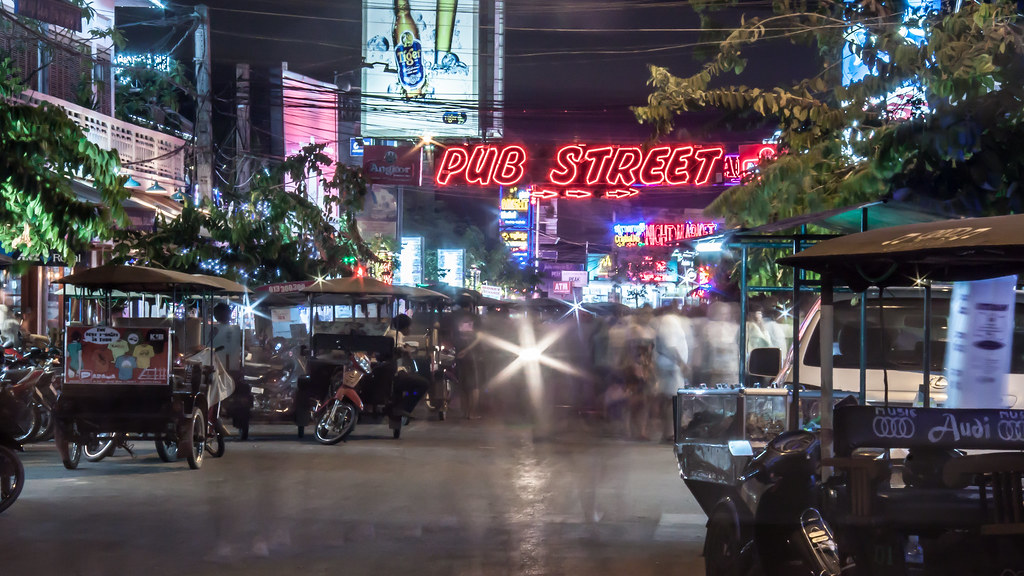 Cambodia | Siem Reap | Pub Street
