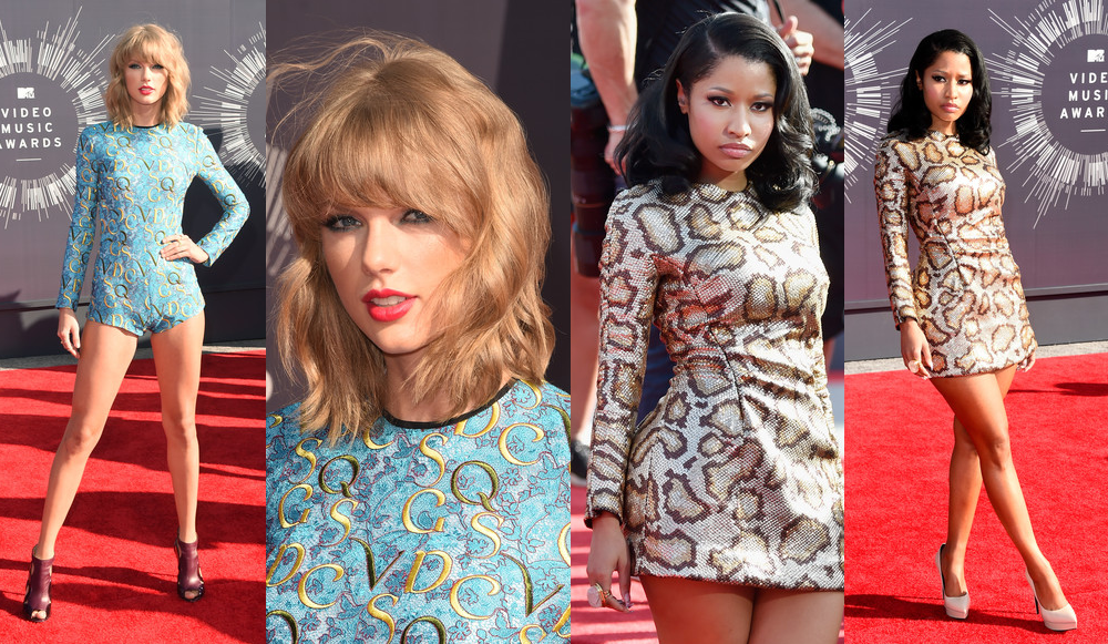 Taylor Swift & Nicki Minaj VMAs 2014