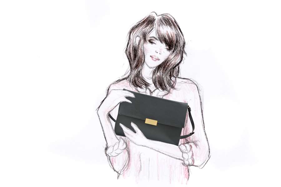 Monnier Frères designer bags autumn winter style illustration drawing blogger Ricarda Schernus Berlin CATS & DOGS 5