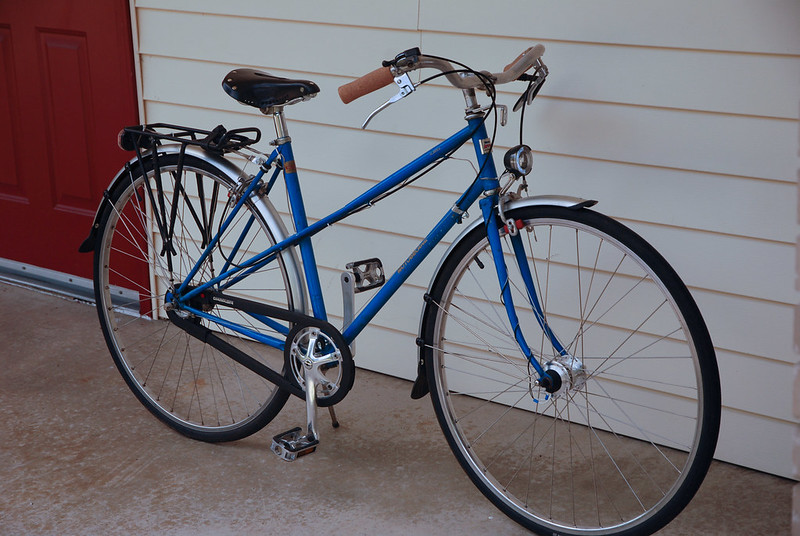 Vintage Road Bike Can I Change Drop Handlebars To Swept