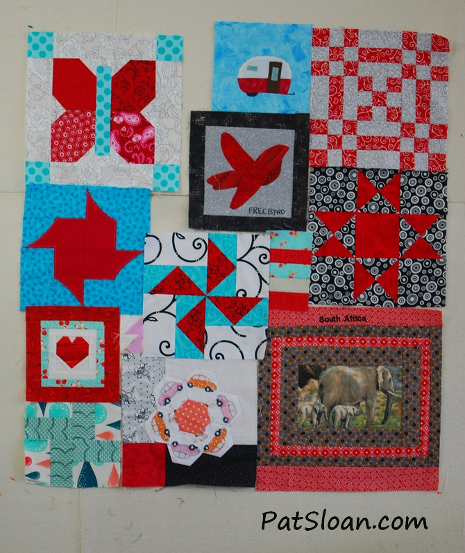 pat sloan birthday quilt aug 12 2014 pic 2