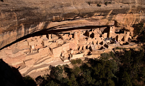 Cliff Dwelling at Colorado's Mesa Verde