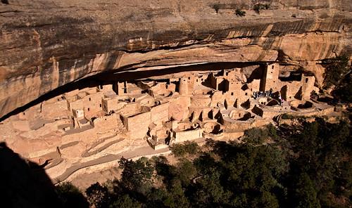 Cliff Dwelling at Colorado's Mesa Verde