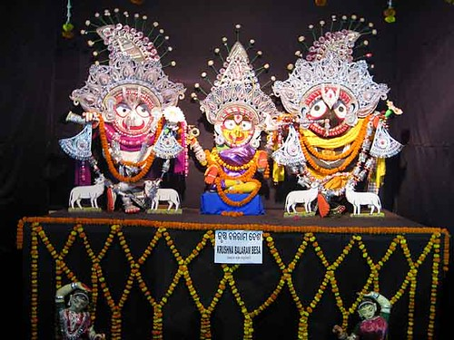 Krusna Balaram Besha –  Costume Of Lord Jagannath