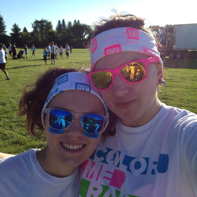 Color Me Rad with this kid.