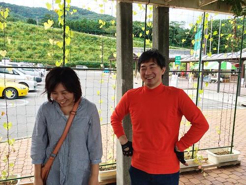 たまたま諏訪湖で出会った人たち