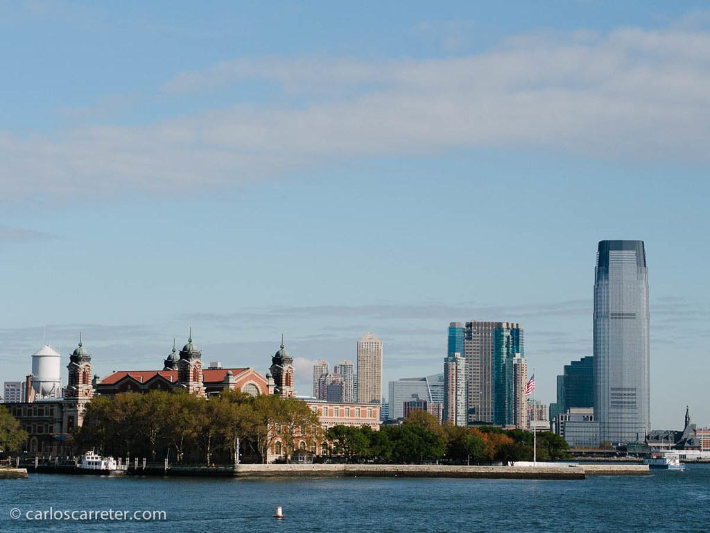 Ellis Island y Jersey City