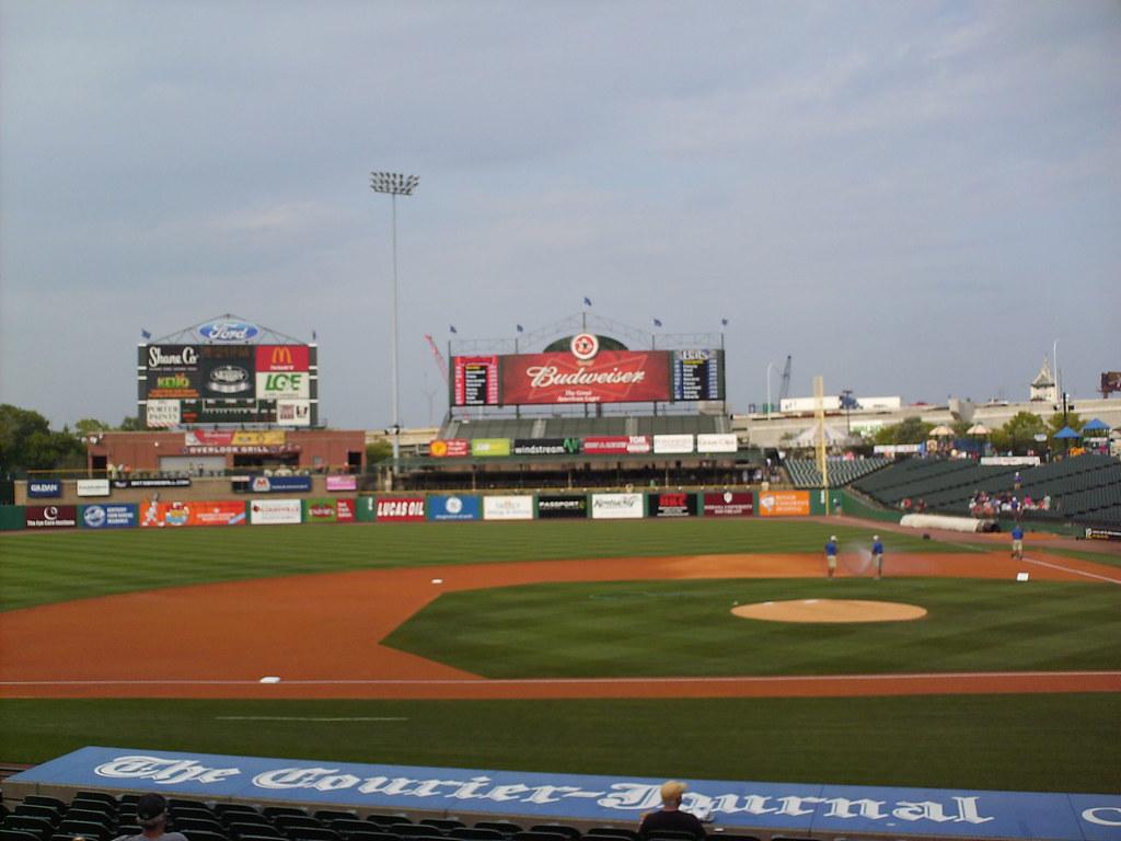 Louisville Slugger Field In The Ballparks