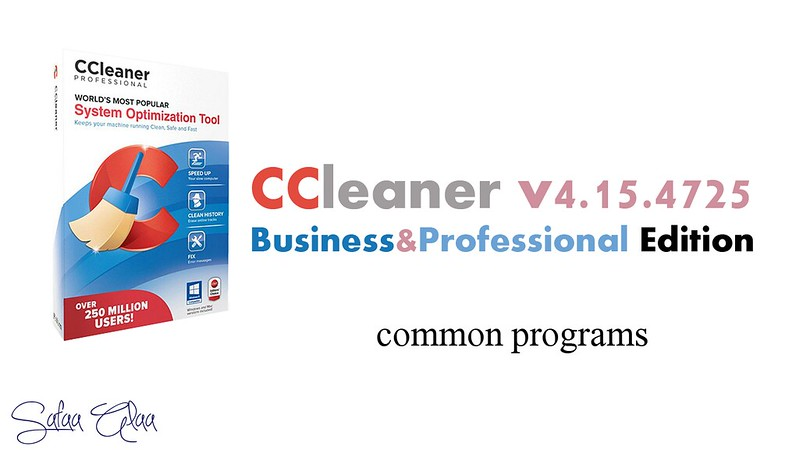 ����� ������ ������ CCleaner v4.15.4725 Business&Professional