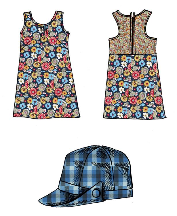 Kaufman fabric swatches