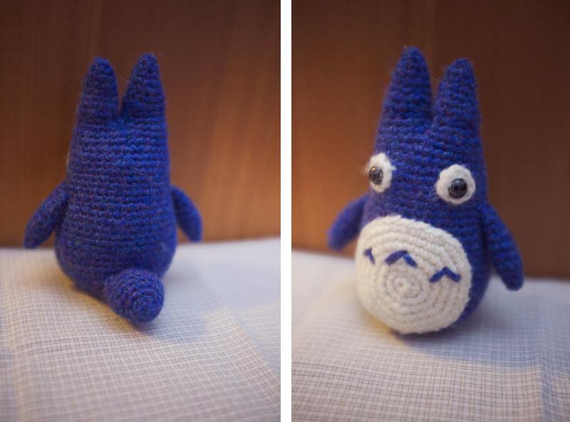 Tiny Totoro Amigurumi : cuteseum: Amigurumi Totoro