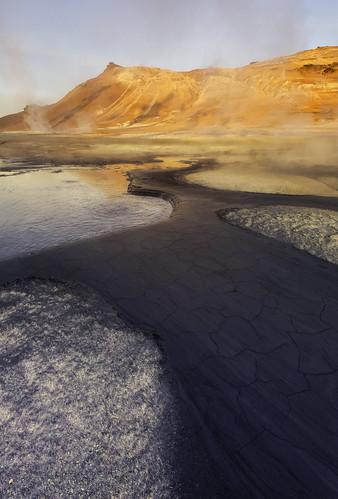 sunrise canon iceland bell kris kristian geothermal 2014 hellnar