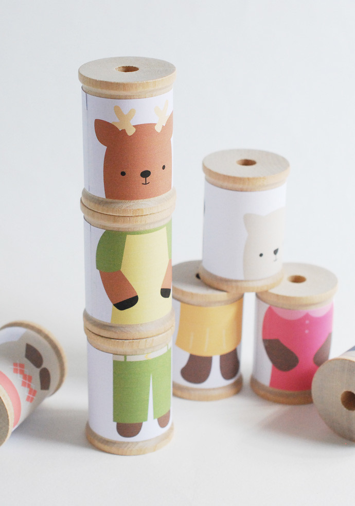 Mix 'Em Up Animal Spools