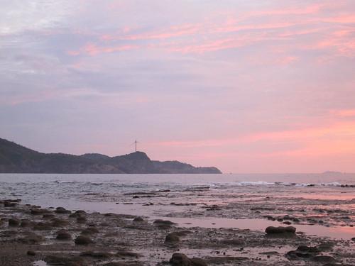 sunset shimane hamada upheaval