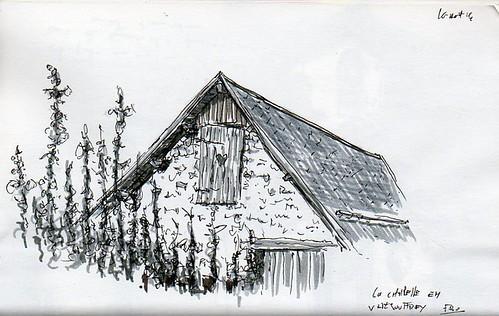 Vieille grange à la chapelle en Valjouffrey