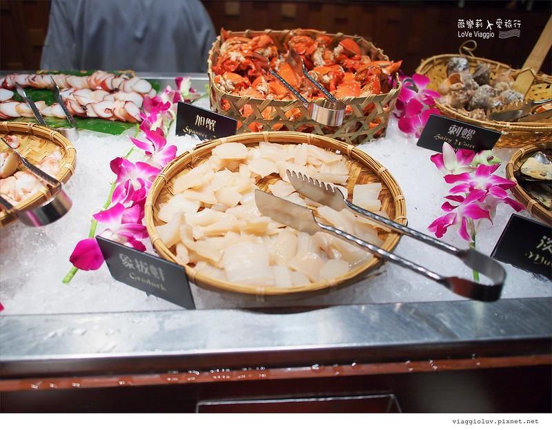 【台北 Taipei】泰市場 – 晶華酒店集團泰式海鮮自助餐 Thai food Buffet @薇樂莉 ♥ Love Viaggio 微旅行