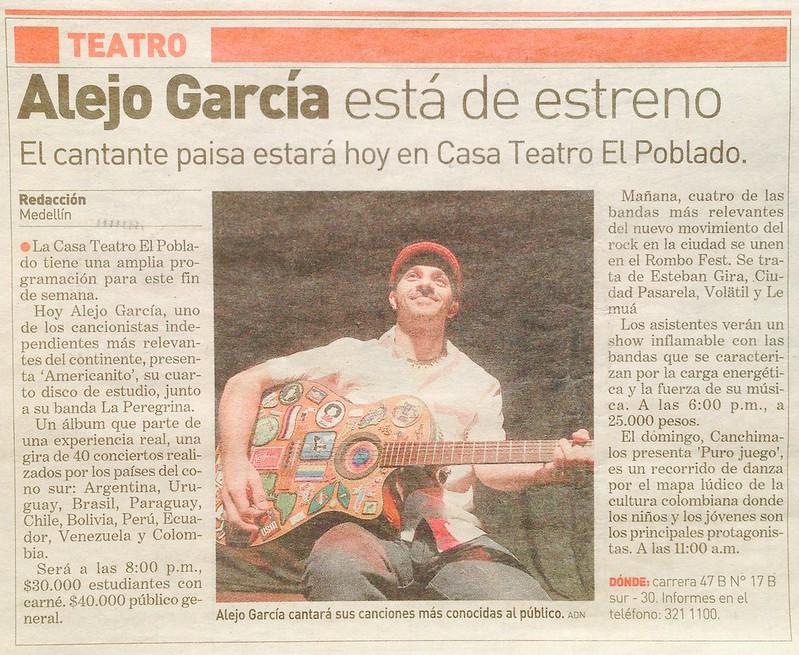 Lanzamiento Americanito Medellín Octubre 2014
