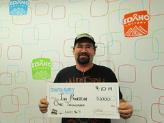 Job Burton - $1,000 Lucky No 7