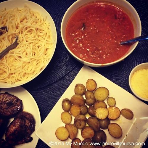 Makati Supermarket Spaghetti