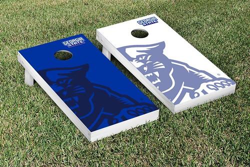 Georgia State Panthers Cornhole Game Set Watermark Version