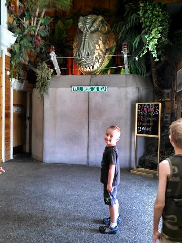 Dinosaur at Wall Drug Store