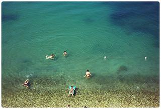 Bild av Lido Blu Water Stranden med en längd på 3563 meter. italy beach italia sicilia lido golfo castellammare