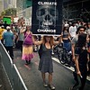 Climate change is death #PeoplesClimateMarch #NYC #skull #sign #environment