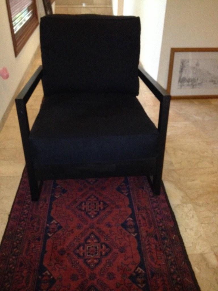 Miraculous Ikea Lillberg Rocking Chair Usd 150 Black Fabric Hardly Theyellowbook Wood Chair Design Ideas Theyellowbookinfo