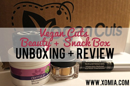 Vegan Cuts Beauty and Snack Box Unboxing - September 2014