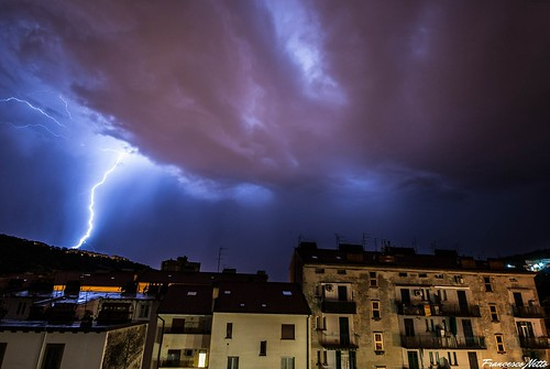 Fulmini su Trieste (31-08-2014)