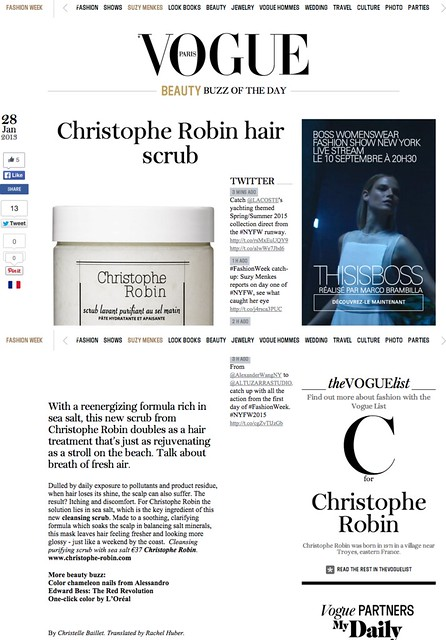 Christophe Robin hair scrub   Vogue English
