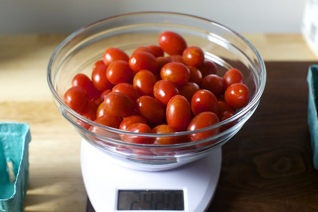 1.5 pounds of tiny tomatoes